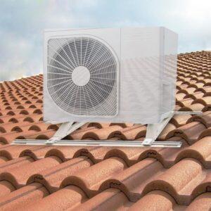 Dakbeugel voor hellend dak - detail foto