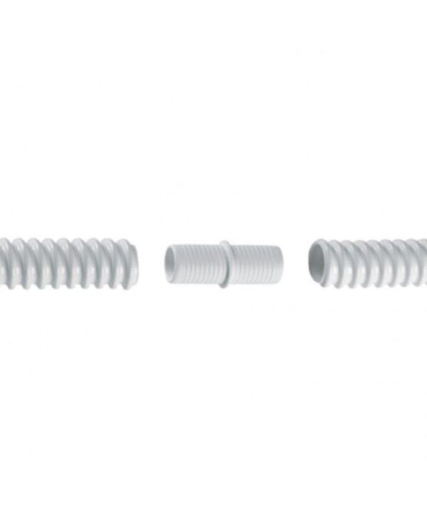 Pvc condenswater afvoer slang koppelstuk 16 mm