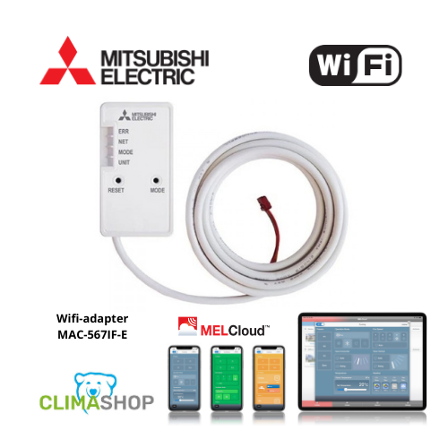 Wifi-adapter MAC-567IF-E (Mitsubishi Electronic compatibel)