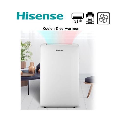 Hisense APH - mobiele airconditioner - koelen en verwarmen