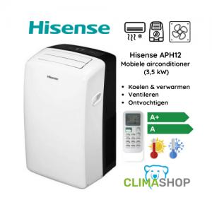 Hisense APH12 mobiele airco (3,5 kW)
