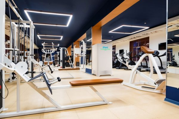 boa professionele luchtreinigers fitness
