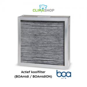 Actief koolfilter (BOAmidi en BOAmidION)