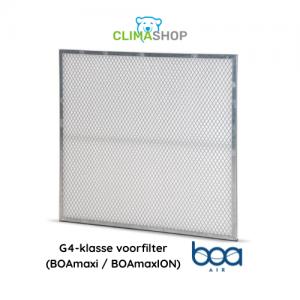 G4-klasse voorfilter (BOAmaxi en BOAmaxION)