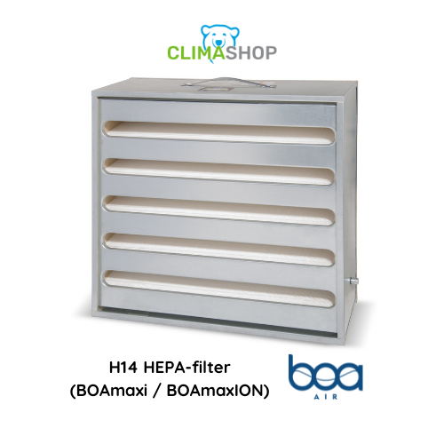 H14 HEPA-filter (BOAmaxi en BOAmaxION)