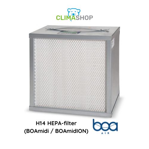 H14 HEPA-filter (BOAmidi en BOAmidION)
